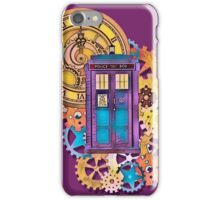 Colorful TARDIS Doctor Who Art iPhone Case/Skin