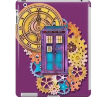 Colorful TARDIS Doctor Who Art iPad Case/Skin