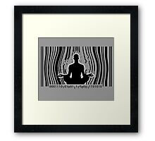 Break Free ! Framed Print