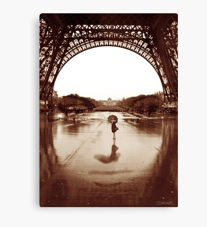 The Other Face Of Paris Canvas Print