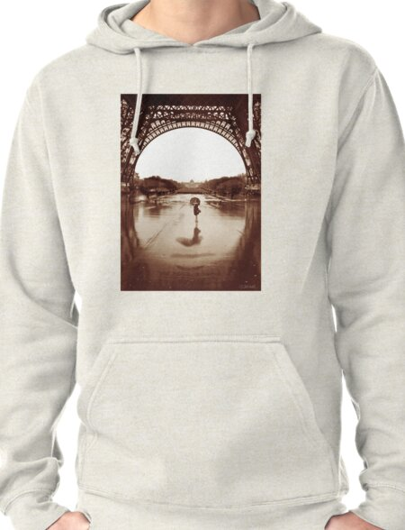 The Other Face Of Paris Pullover Hoodie