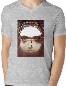 The Other Face Of Paris Mens V-Neck T-Shirt