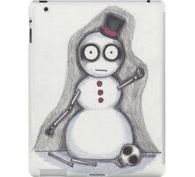may i borrow your body parts?  the spookies' snowman iPad Case/Skin