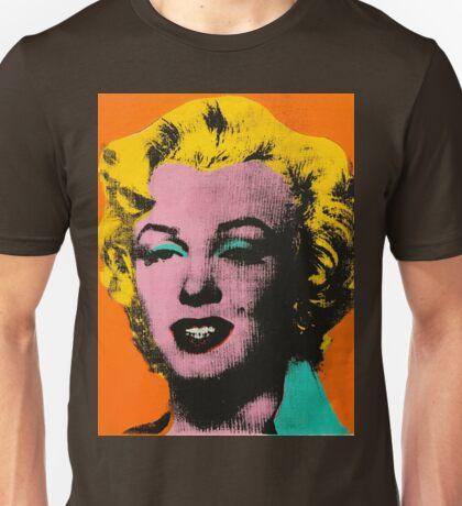 Warhol Marilyn Unisex T-Shirt