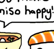 Cute Miso Happy! Sticker