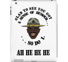 Major Payne T-Shirt iPad Case/Skin