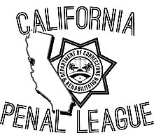 California Penal League Photographic Print