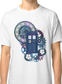 Time and Space Doctor Who inspired Art Classic T-Shirt