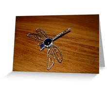 Goggo/Insect range - Blue Emperor Dragonfly Greeting Card