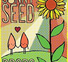 Sunny Seed Drops by Angela Protzman
