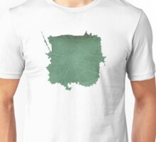 Watercolor Abstraction: Scored Paper Unisex T-Shirt