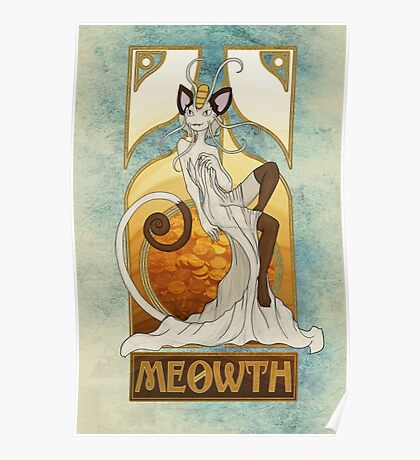 Rule 63: Meowth Poster