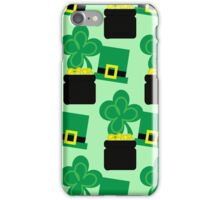 Happy St. Patty's Day! iPhone Case/Skin