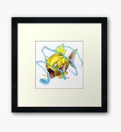 SiNxRealize Shiny Magikarp Framed Print