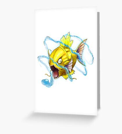 SiNxRealize Shiny Magikarp Greeting Card