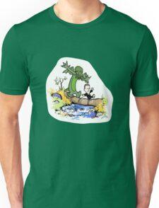 H.P. and Cthulhu Unisex T-Shirt