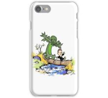 H.P. and Cthulhu iPhone Case/Skin