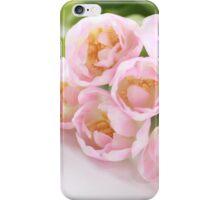 Delicate tulips iPhone Case/Skin