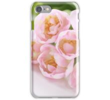 Delicate tulips iPhone Case/Skin