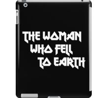 THE WOMAN WHO FELL TO EARTH - David Bowie iPad Case/Skin