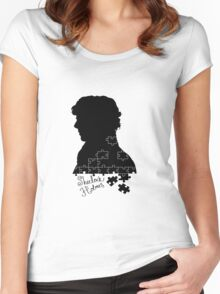 The Consulting Detective Women's Fitted Scoop T-Shirt