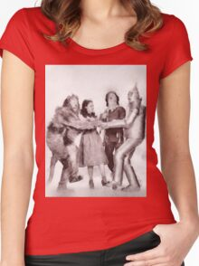 Wizard of Oz by John Springfield Women's Fitted Scoop T-Shirt