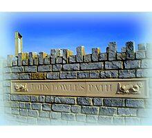 John Fowles Path Photographic Print