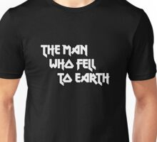 THE MAN WHO FELL TO EARTH - David Bowie Unisex T-Shirt