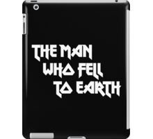 THE MAN WHO FELL TO EARTH - David Bowie iPad Case/Skin