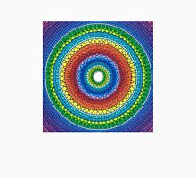Happy Rainbow Mandala Womens Fitted T-Shirt