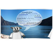 Christian Positive Affirmations for Kids Poster