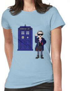 8-bit 12th Doctor Womens Fitted T-Shirt