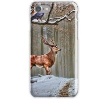 British Woodland Animals iPhone Case/Skin
