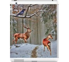 British Woodland Animals iPad Case/Skin