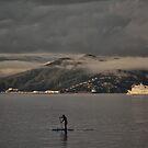 Low Clouds Over Lowry Bay by Peter Kurdulija