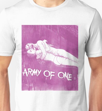 Army of One (Pink) Unisex T-Shirt