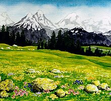 THE SWISS ALPS by RainbowArt