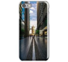 View of Tower Bridge as seen from More London iPhone Case/Skin