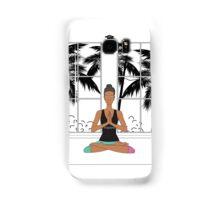 Yoga Girl. Samsung Galaxy Case/Skin