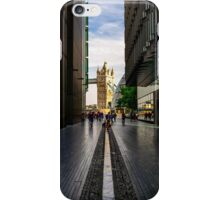 View of Tower Bridge as seen from More London - square photo iPhone Case/Skin