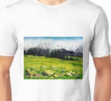 THE SWISS ALPS Unisex T-Shirt