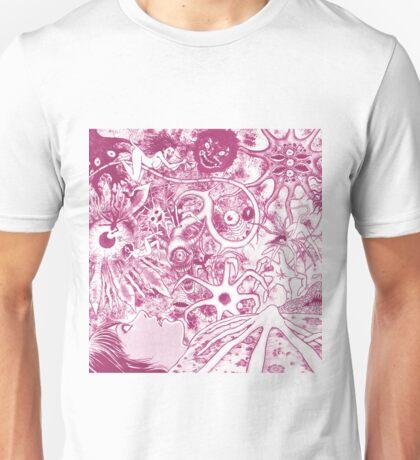 Fragments of Horror (Pink) Unisex T-Shirt