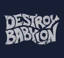 Destroy Babylon Buzz Logo Kids Tee