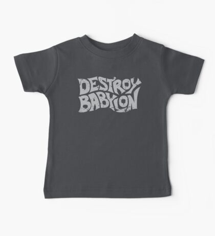 Destroy Babylon Buzz Logo Baby Tee