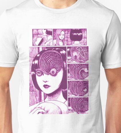 Uzumaki (Pink) Unisex T-Shirt