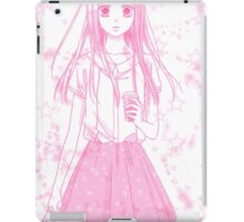 School Girl (Pink) iPad Case/Skin