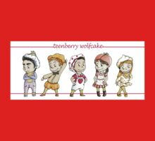 TEENberry WOLFcake One Piece - Long Sleeve