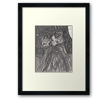Dwarf Beard Framed Print
