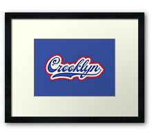 Crooklyn Framed Print