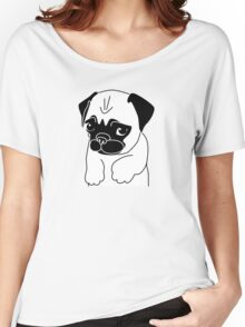 Pug Please Women's Relaxed Fit T-Shirt